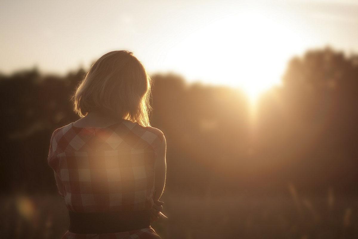 sunset-calm-woman-thinking