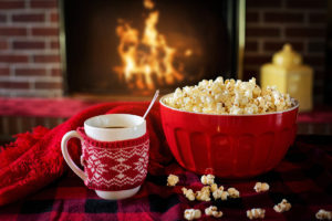 popcorn-hot-chocolate-fire